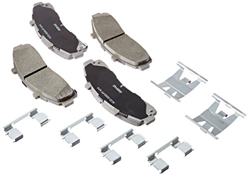 ACDelco 14D652CH Advantage Ceramic Front Disc Brake Pad Set (Disc Ford Ranger Brake)