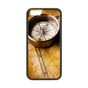 IPhone 6 Plus Cases Compass, Iphone 6 Plus Case Cute - [Black] Okaycosama