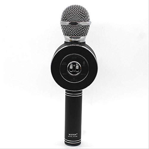 RRYM Micrófonos Micrófono Inalámbrico Bluetooth Karaoke Altavoz ...