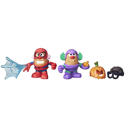 Playskool Friends Mr. Potato Head Marvel Spider-Man and Green Goblin (Green Man Spider)