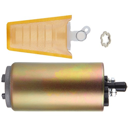 ROADFAR Fuel Pump High Performance Electric Installation Kit Strainer fit for 1988 1989 1990 1991 1992 Acura Legand NSX Integra Buick Century Daihatsu Charade Compatible ()