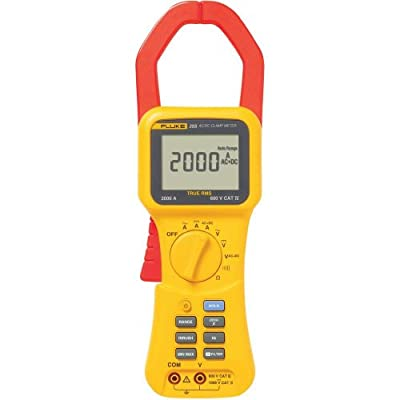 Fluke 355 True RMS Clamp-Meter, 2,000A AC/DC, Conductors to 58mm, Voltage, Frequency, and Resistance Measurement