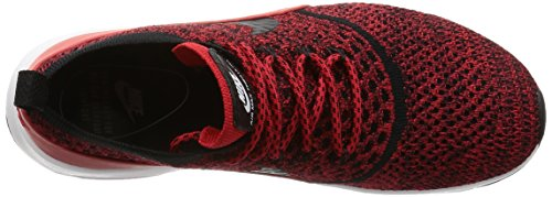 tela Rojo Negro Nike de mujer Zapatillas para fTaqTE