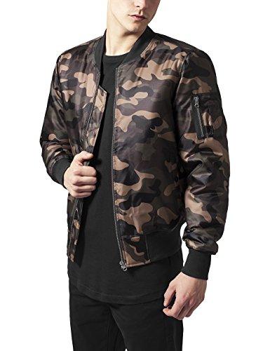 Bomber Multicolor Camo para Urban Wood Classics Hombre Jacket Chaqueta Camo Basic qfAfST