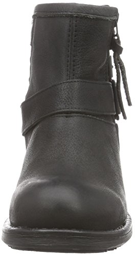 Apple of Eden Feliz - zapatillas de ciclista de cuero mujer negro - negro