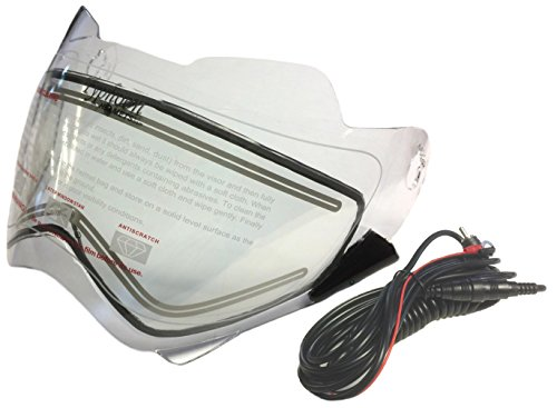 snowmobile heated visor - 2