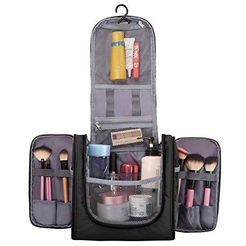 Grande Accesorios Essentials negro Personales Y Neceser Viaje Unisex Maquillaje Gancho Negro Para Con Otros Objetos De Colgar Cosméticos Artículos Eono Afeitado Fqw6E4w