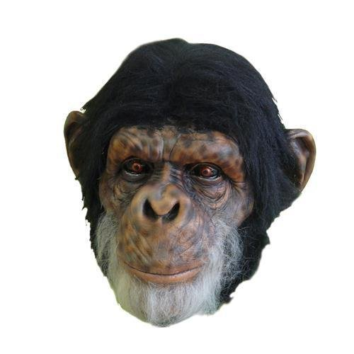 Morris Costumes Chimp Latex Mask]()