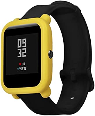 ☀️Modaworld Protector para xiaomi huami amazfit bip Youth, Fundas de Protección para xiaomi huami amazfit bip smartwatch Reloj Fundas Protector de ...