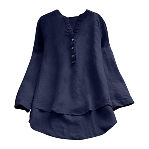 UONQD Women's Color Block Blouse Short Sleeve Casual Tee Shirts Tunic Tops(XX-Large,Navy) -
