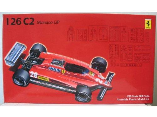 1/20 Ferrari 126C2 Monaco GP (Model Car) Fujimi GP-6|Grand GP-6|Grand Fujimi Prix Series 10f345