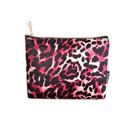 LiboboCosmetic Makeup Brush Bag Case Holder Multifunction Portable Pocket Jewelry Bag (M)