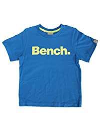 Bench Childrens Boys Standard Short Sleeve Crew Neck T-Shirt