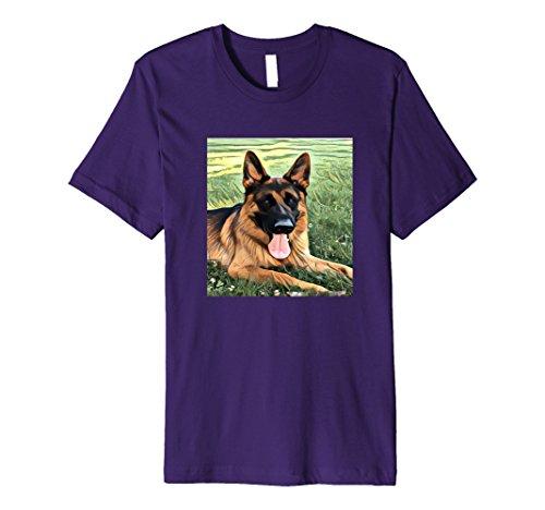 mens-i-love-german-shepherds-medium-purple