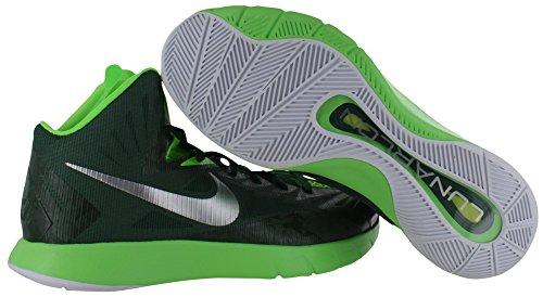 Nike Lunar Hyperquickness Mens Scarpe Da Basket Sneakers Grn Sz 8.5