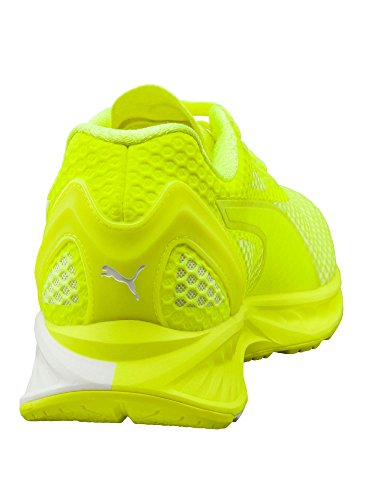 Puma Ignite 3, Zapatillas de Running para Hombre Safety Yellow-Puma White