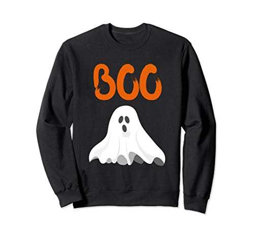 Scary Halloween Boo Sweatshirt Women Men Ghost Sweatshirt