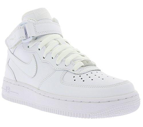 Nike Air Force 1 Mid 07 Le 366.731 Vrouwen Sportschoenen Wit