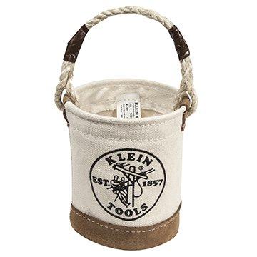 Klein Tools 5104MINI Mini Leather Bottom Bucket