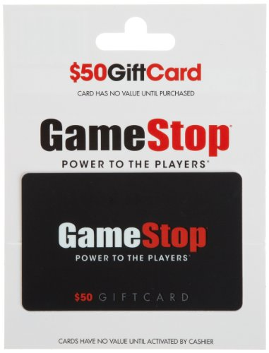 GameStop Gift Card $50 - Planet Card Gift