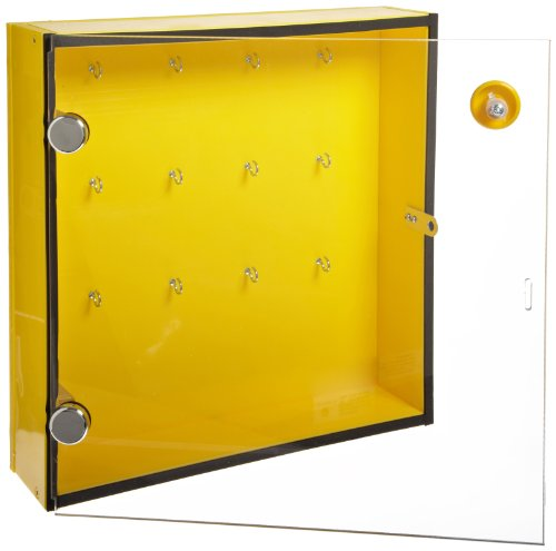 North Safety Storage Module, Stores Up To 175, 3'' Padlocks, 24'' Length , 30'' Width , 3'' Height by Northfifteen