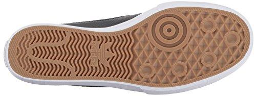 Adidas Original Mens Matchcourt Slip Skatesko Svart / Svart / Vit