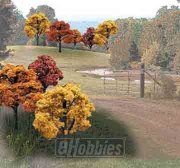 Fall Deciduous Value Pack Ready Made Trees 2