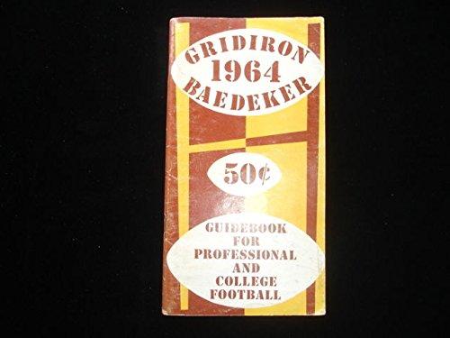 - 1964 Gridiron Baedeker Guide Book Ex