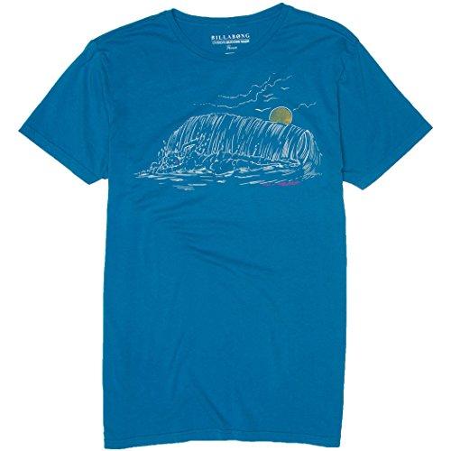 Billabong Mens Wave Babe Short-Sleeve Shirts, Faded Royal, Medium