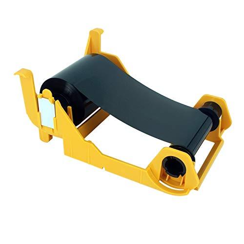 - Printer Parts Yoton Printer 1000 Prints Black Ribbon for Zebra P100I P110I P120I P100M 800017-201 Printer Compatible Card Printer Ribbon