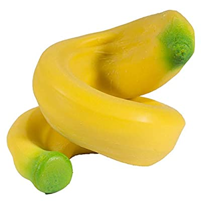 Stretch and Mold Banana - Squeezy Stretchy Fidget Stress Toy: Home & Kitchen