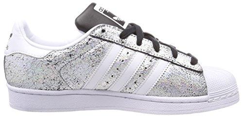Supcol Superstar Silber Negbas Damen Fitnessschuhe Ftwbla adidas 000 4gIxTU
