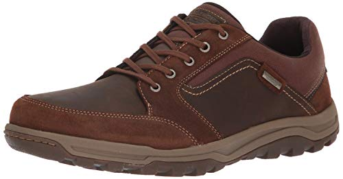 Rockport Men's Harlee Lace to toe Shoe, tan, 13 M US