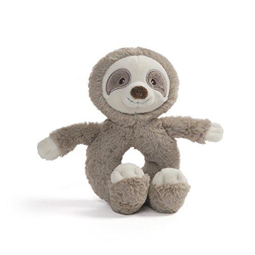 Sloth Rattle Plush Stuffed Animal 7.5