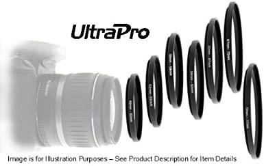 UltraPro Step-Up Adapter Ring 52mm Lens to 62mm Filter Size
