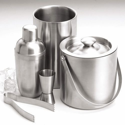Tulsi Stainless Steel Losange Bar Set (5 Pcs) low price