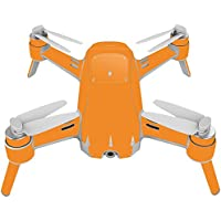 Skin For Yuneec Breeze 4K Drone – Solid Orange | MightySkins Protective, Durable, and Unique Vinyl Decal wrap cover | Easy To Apply, Remove, and Change Styles | Made in the USA