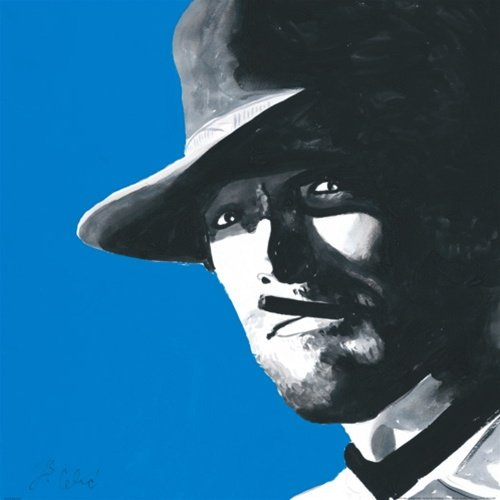 Clint Eastwood Hang Em High Spaghetti Western Movie Pop Art Poster Print 19 5 X 19 5 Inches