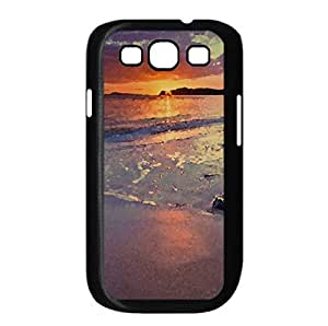 New Zealand Beach Watercolor style Cover Samsung Galaxy S3 I9300 Case (Beach Watercolor style Cover Samsung Galaxy S3 I9300 Case)