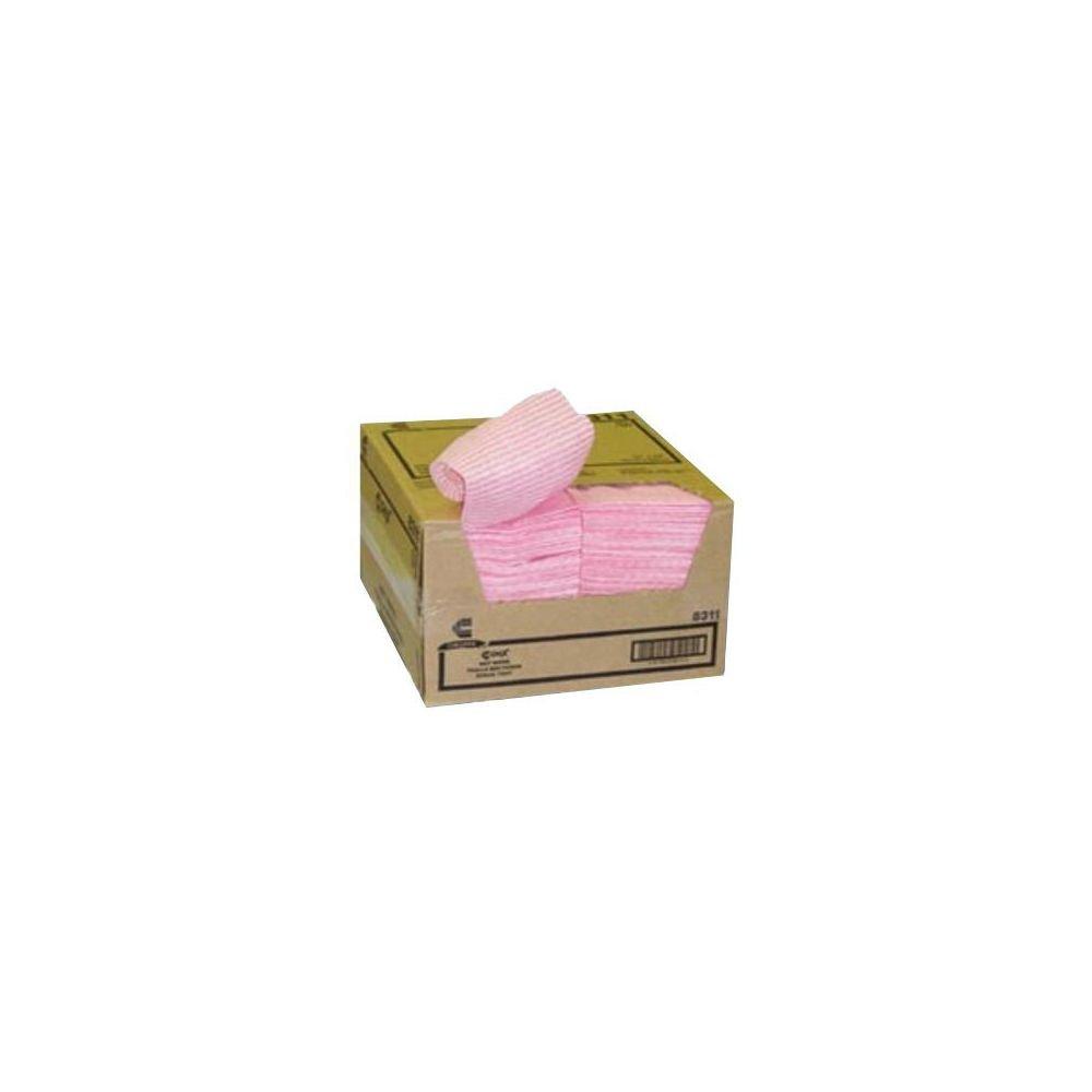 BUNZL Chicopee 8507 Chix Pink Service Wet Wiper - 200/CS