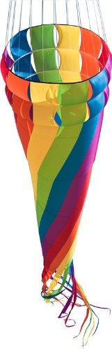 HQ Mega Windsack Windturbine rainbow Ø68cm Nylongewebe 5m