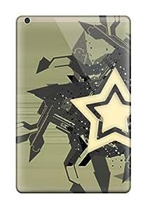 Ipad Mini/mini 2 Cover Case - Eco-friendly Packaging(watch The Stars Brown White Black Grey)