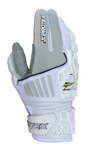 Xprotex大人用Raykr 2014保護バッティング手袋、ホワイト、XS B00GV4M1FQ