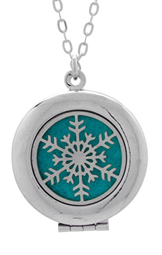 Snowflake Essential Diffuser Necklace Aromatherapy