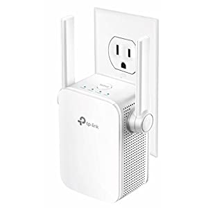 TP-Link AC1200 Dual Band WiFi Range Extender, Repeater, Access Point w/ Mini Housing Design, Extends WiFi to Smart Home & Alexa Devices (RE305)