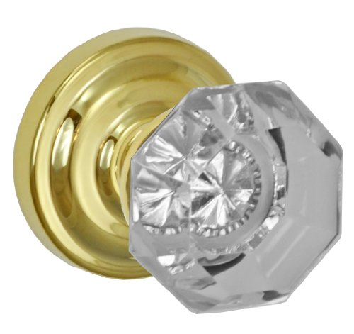 Rose Glass Knob - 5