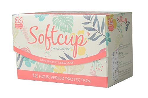 Softcup, 14 Disposable Menstrual Discs