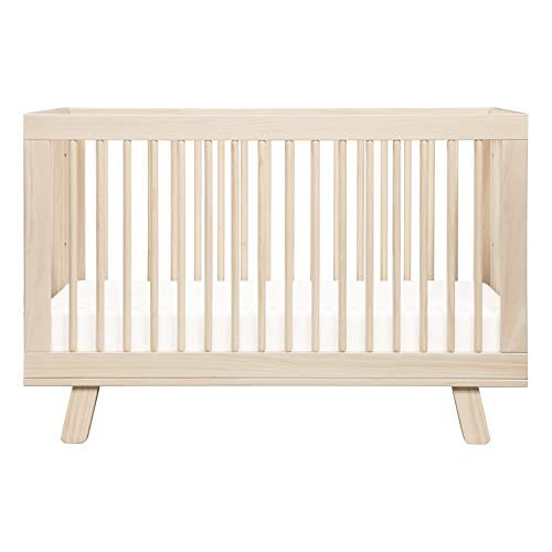 41 chKEh75L - Babyletto Hudson 3-in-1 Convertible Crib With Toddler Bed Conversion Kit In Washed Natural, Greenguard Gold Certified