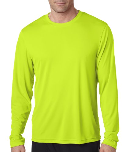 Hanes Cool DRI® Performance Men's Long-Sleeve - Color Of Neon