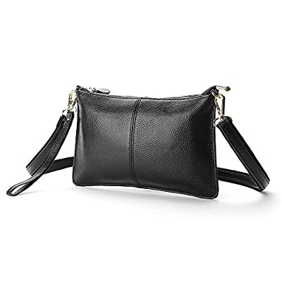 Women Genuine Leather Handbags party Clutches mini Crossbody Shoulder bags fashion Purse totes shopping Wristlet